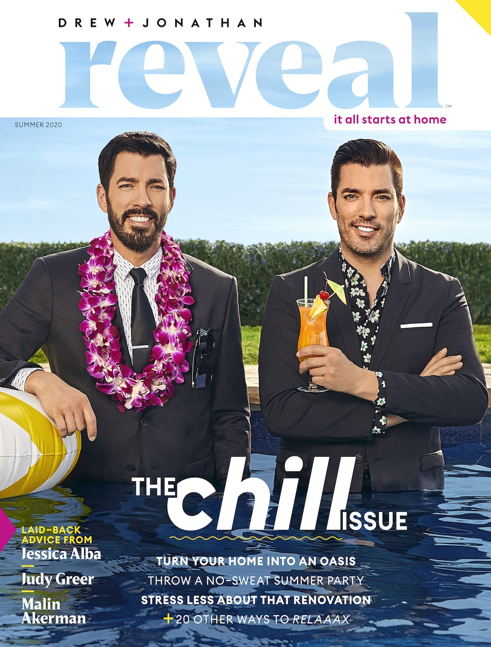 Reveal Magazine by Drew and Jonathan Scott