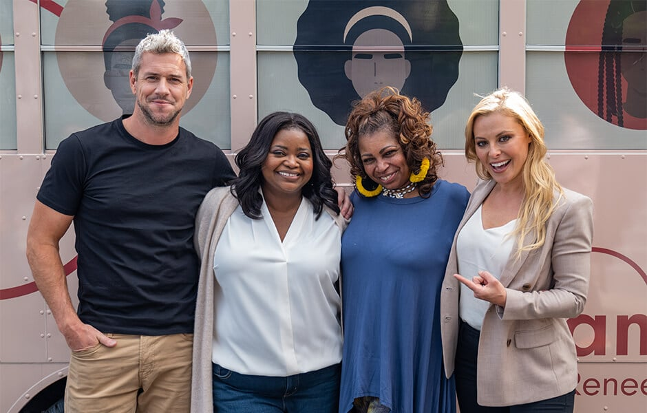 Octavia Spencer, Ant, Cristy and Renee