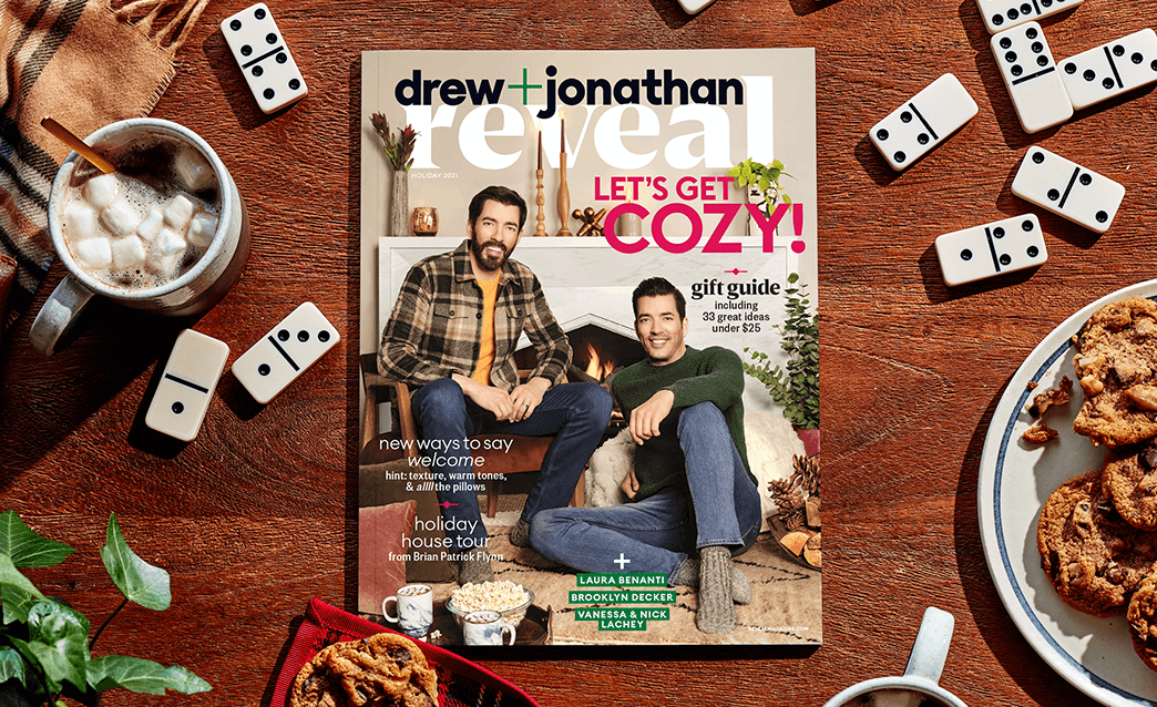 Drew + Jonathan Reveal Magazine Available Now